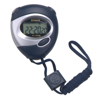 Professional Hand Held Cheap Digital Stop Watch with Single Channel Memory