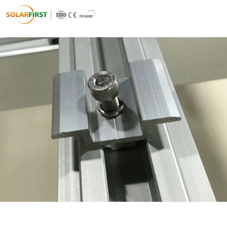 Solar Middle Clamp for Ground & Roof PV System