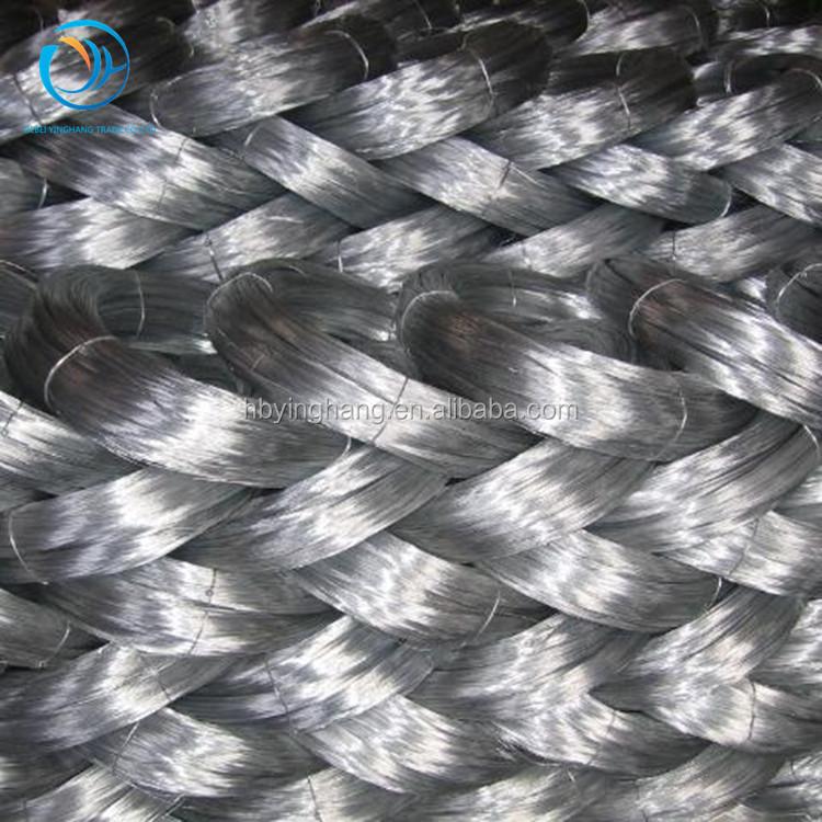 Прямая поставка с завода, электро оцинкованная и черная отожженная железная проволока для подвязки проволоки, забора и проволочной сетки