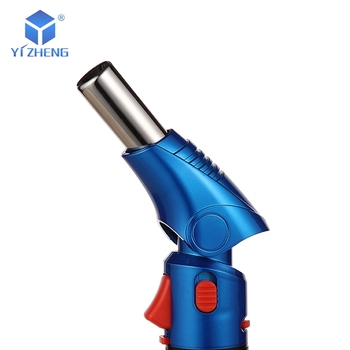 Refillable YZ-090 Head rotatable Creme Brulee mini professional butane kitchen torch