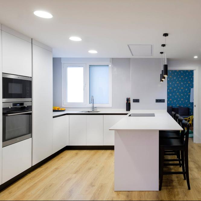 Kabinet Dapur Kecil Bentuk U Untuk Prokect Dan Rumah Buy Warna Hitam Lemari Dapur Modular Lemari Dapur Kustom Lemari Dapur Product On Alibaba Com