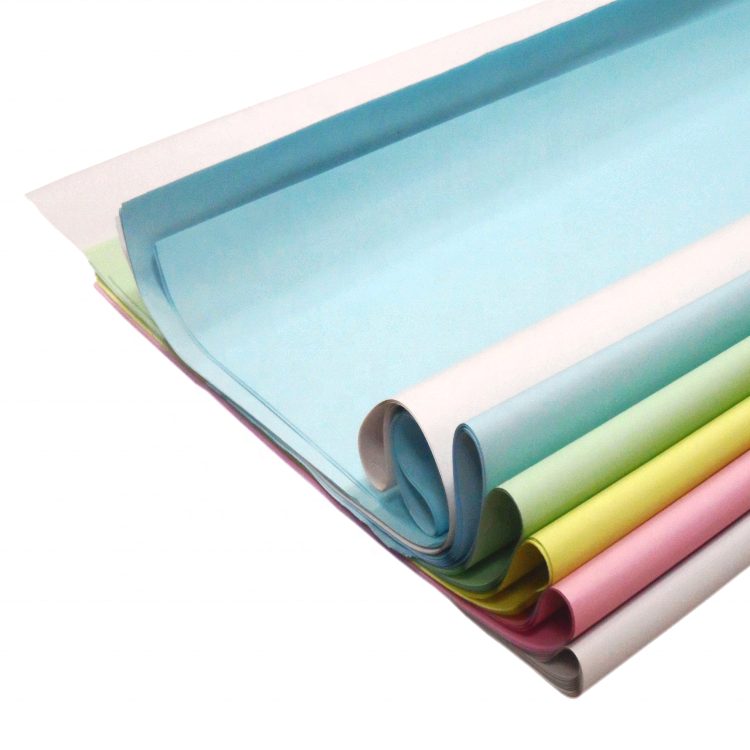 Non-carbon NCR Copying Paper