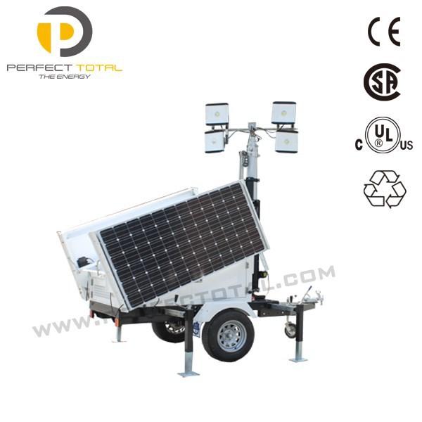 Portable Lighting Tower Solar Generator