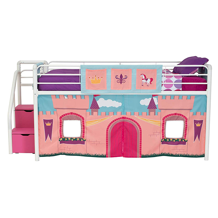 Free Sample Twin Over Curtains Double Full Size Princess Bunk Bed Buy Curtains Australia Tent Canada A Build Diy Plans Princess Bunk Bed For Sale Product On Alibaba Com