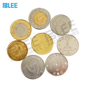 Custom arcade game token coin metal game coins for arcade game