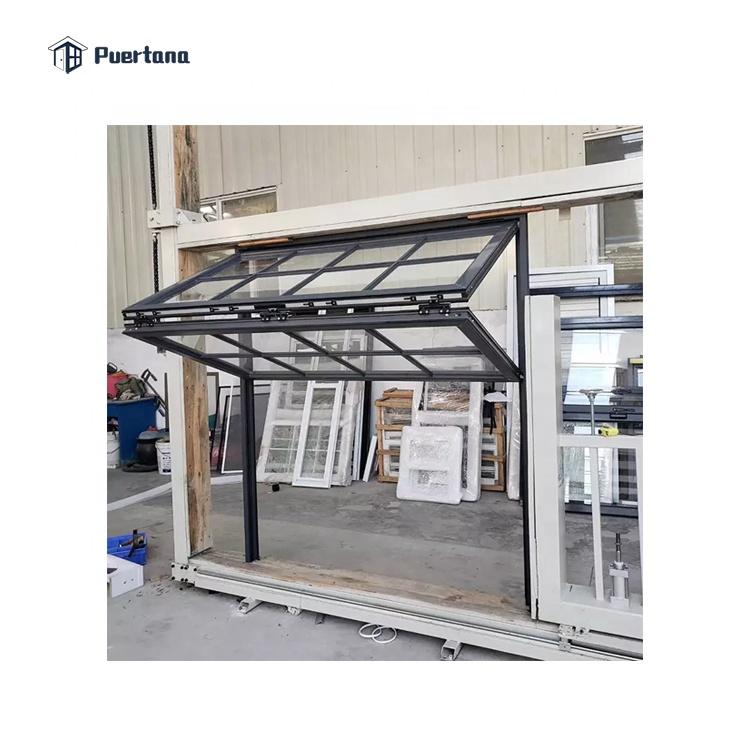 Американский вертикальной Roll Up Сетка откидные окна для бара