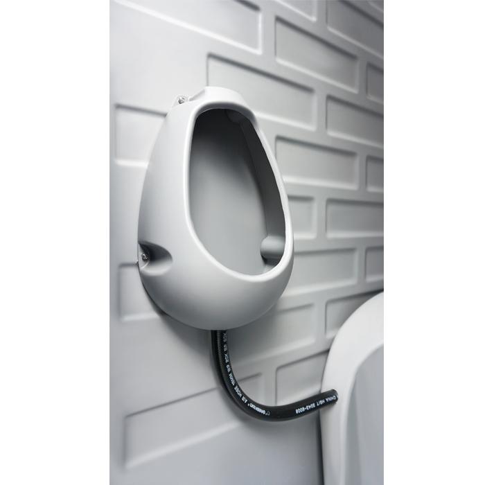 Light seated flush portable toilet plastic,prefab house mobile toilet