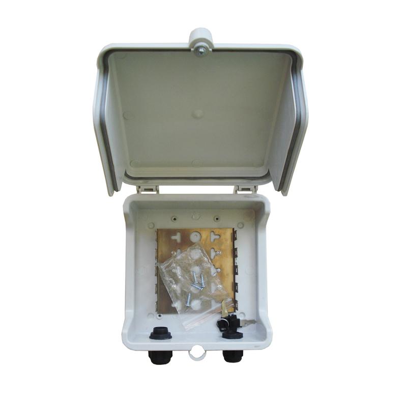 50 пар, металлическая погодозащищенная распределительная коробка для модуля кроны