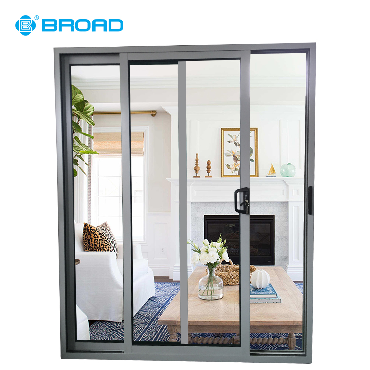 Aluminum Sliding Doors Price Philippines View Sliding Glass Door Broad Product Details From Zhongshan Broad Windows Doors Curtain Wall System Company Limited On Alibaba Com