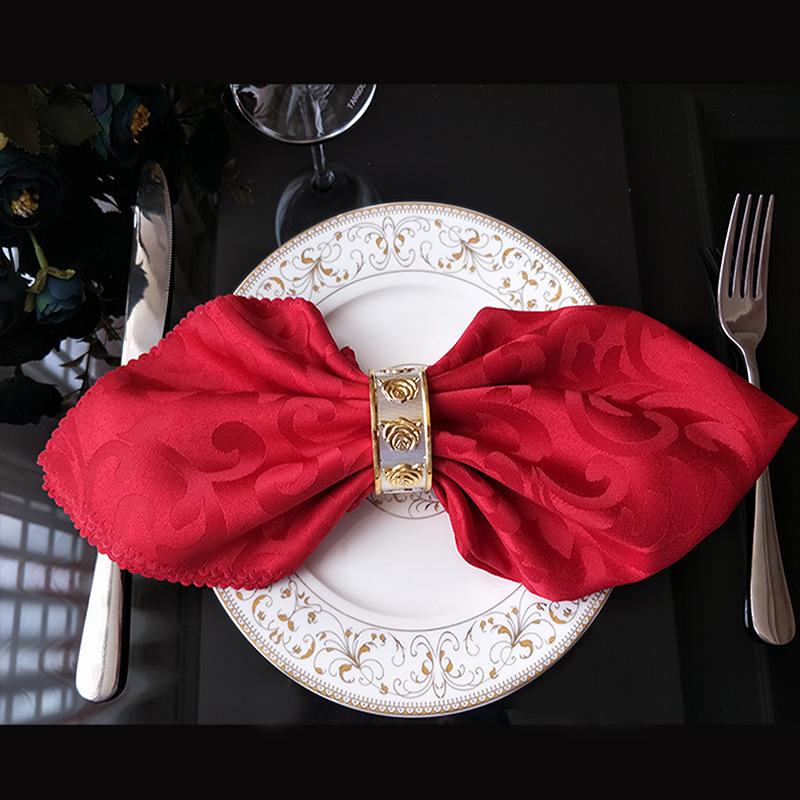 Свадебная обеденная скатерть из 100% полиэстера, размер клиента