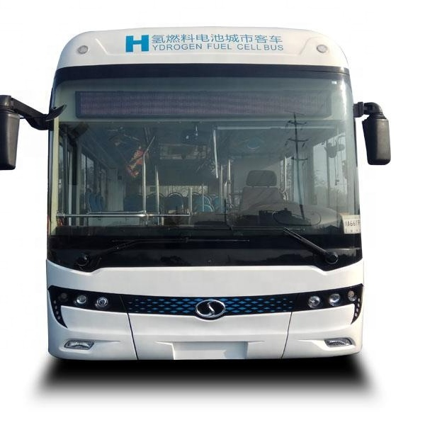 Hydrogen fuel bus electric bus new energy technology bus