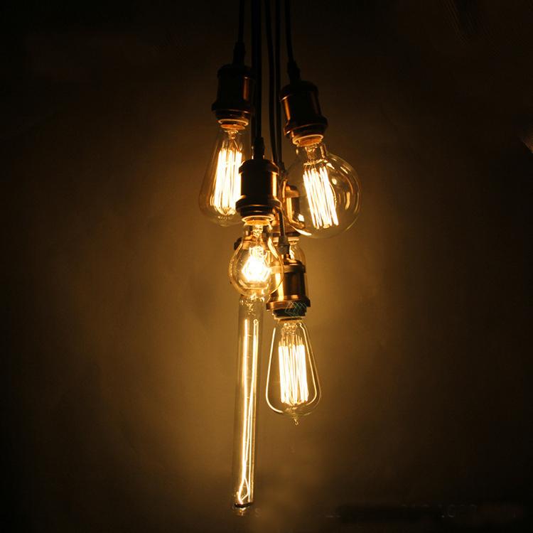 industrial LED Edison Bulb Vintage Light Filament Bulb Chandeliers light sourcing E26/E27