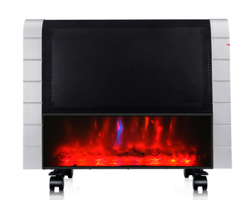 Low Cost Electric Space Panel Wall Decorative Flame Room Mount Mica Heater
