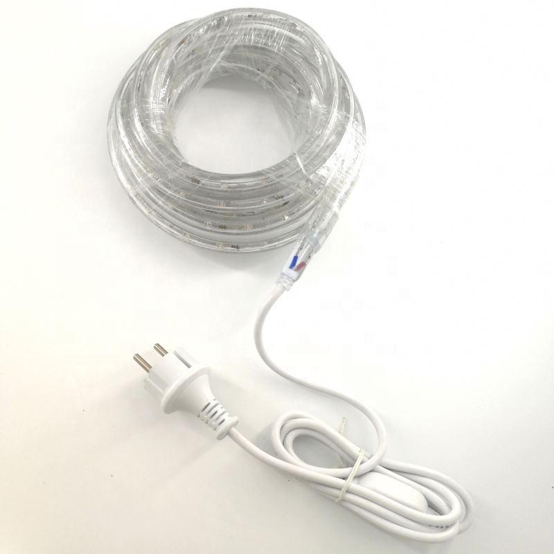 CE ROHS утвержденных IP65 ПВХ дюралайта 2 круглой проволоки Гибкая светодио дный дюралайта
