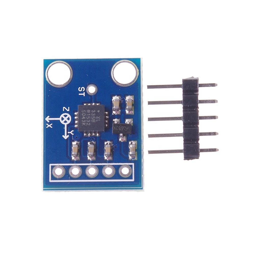 ADXL335 3-Axis Analog Output Accelerometer Module Angular Transducer 3-5V