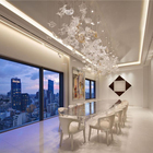 Glass Chandelier Glass Glass Chandelier Factory Modern Customize Art Glass Chandelier For Dining Room