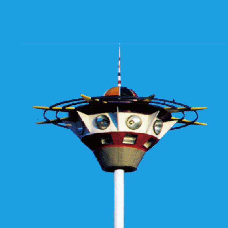 factory supply customized high mast flood light stainless steel high light mast