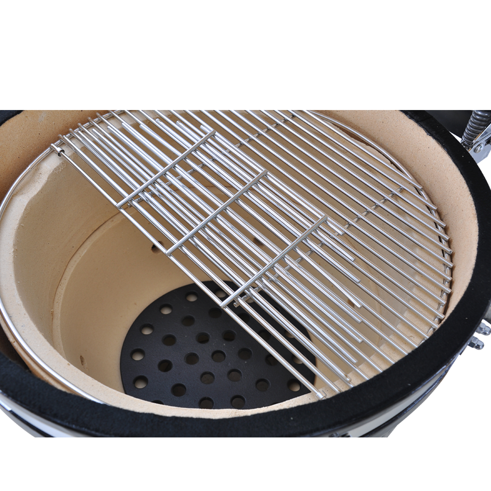 SEB KAMADO 21 inch Kamado large tandoor oven bbq grill charcoal green color big boats partner ceramic bbq grills