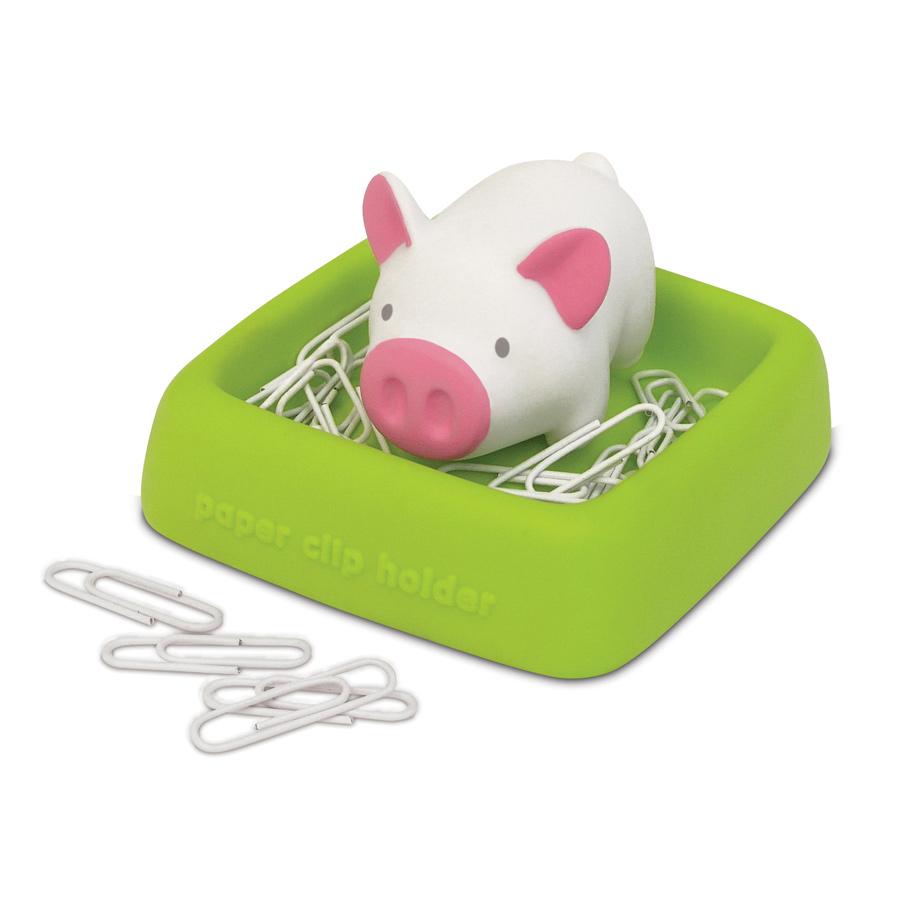 Детский Магнитный симпатичный держатель для бумаги в форме животного с зажимами