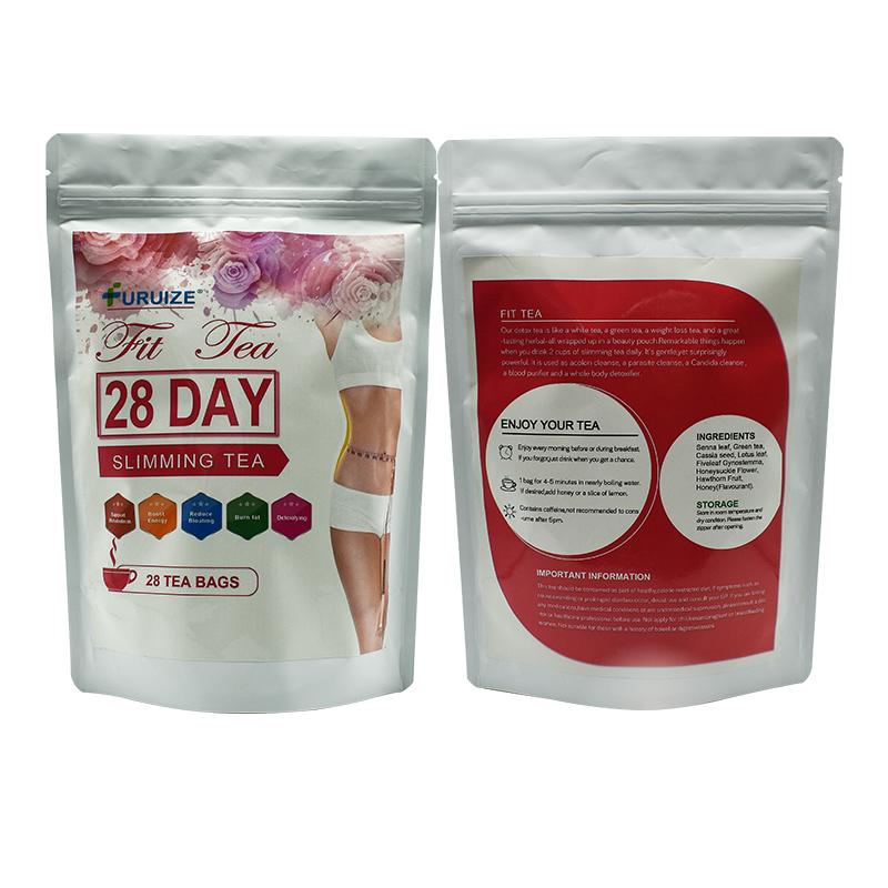 Частная торговая марка, китайский травяной чай для похудения 28 дней