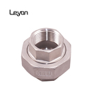 Union Pipe And Fitting Ss304 Ss316 Stainless Steel Pipe Fitting Union Npt/sw/bw Union