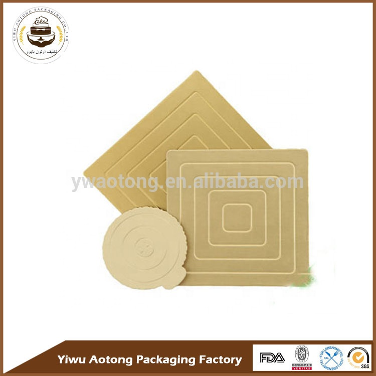 Wholesale Cake Boards for wedding cake base wood boards MDF with printing custom size