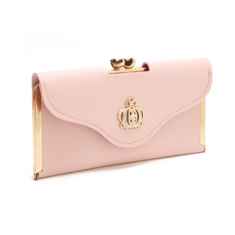 New Fashion Pu Leather Long Slim Woman Wallet