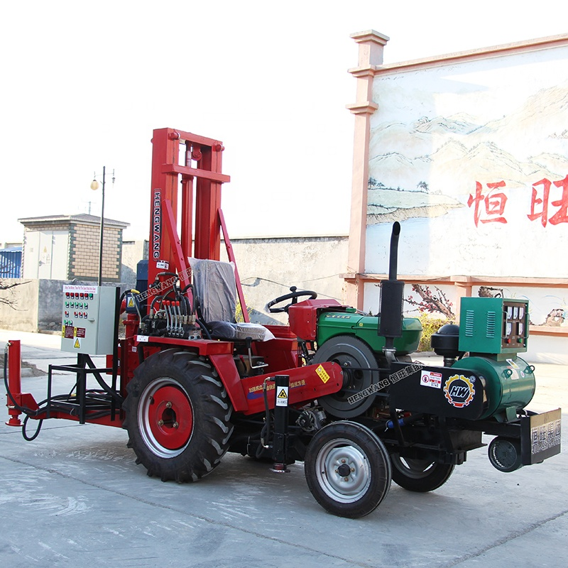 low price water well borehole drilling machine