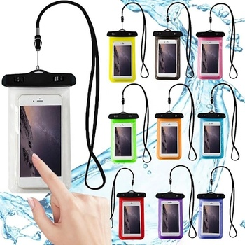 Universal Waterproof Mobile Phone Bag Pouch Carry Cover Waterproof Phone Case for Iphone for Samsung Galaxy note
