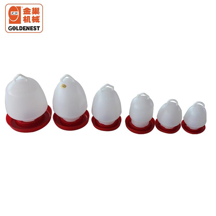 Пластиковая ручная поилка для бройлеров/уток/цыплят, питьевая система различной емкости для цыплят