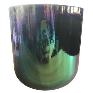 Shell multi color healing chakra alchemy  quartz crystal singing bowl sound therapy