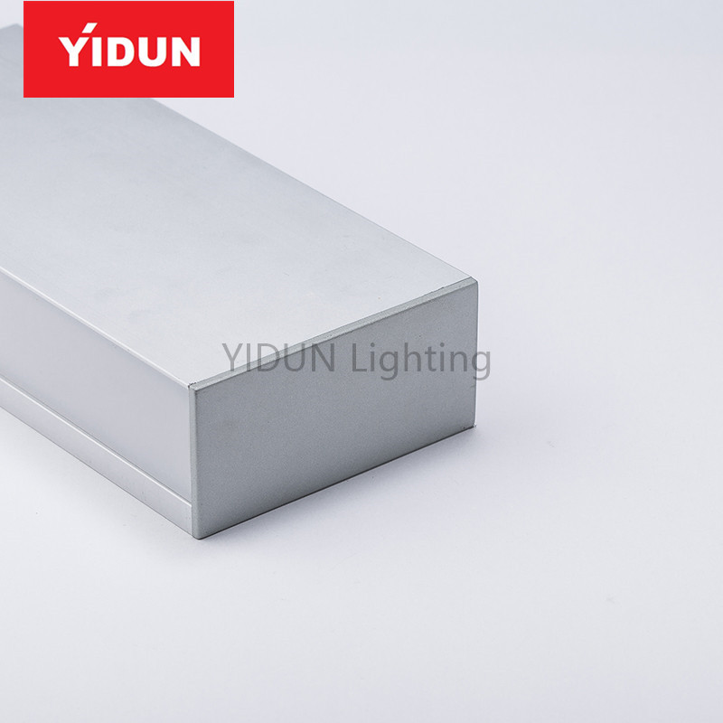 Guangzhou Factory Up And Down Wall Washer Aluminum Extrusions Led Profile Light With Opal Diffuser