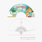 Advertising Paper Hand Fan Fan Paper Hand Fan Customise Advertising Paper Hand Fan For Promotion Or Event