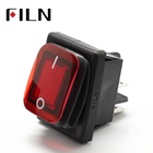 Rocker Switch Rocker Switch 30a 250v On Off 30A/250V Heavy Duty 4 Pin DPST IP67 Sealed Waterproof T85 Auto Boat Marine Toggle Rocker Switch With LED 12V 220V 30x22