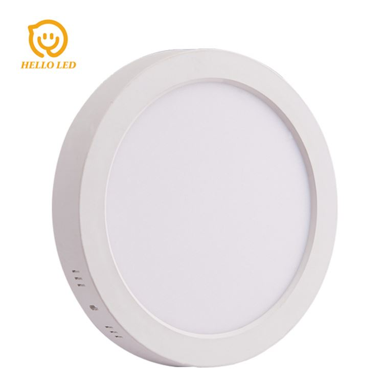 CE RoHs Indoor factory price 12 watt smd 2835 ceiling housing surface mounted lamp 12w Round LED panel Light 12W