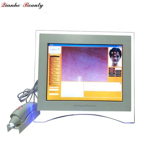 Newest portable intelligent skin care tester/analyzer/scanner