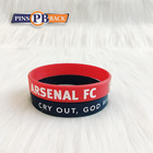 Top Quality Custom Logo Rubber 3d Pvc bracelet Wholesale personalized pvc bracelet with letters