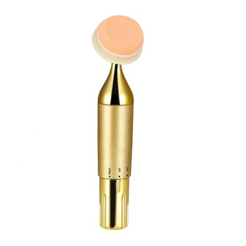 Auto Face Applicator Cosmetic Puff 3D Vibration Electric Make Up Foundation Powder Puff