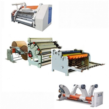 NEW 2-layerCorrugated cardboard production line /corrugator machine full set/carton box making machine