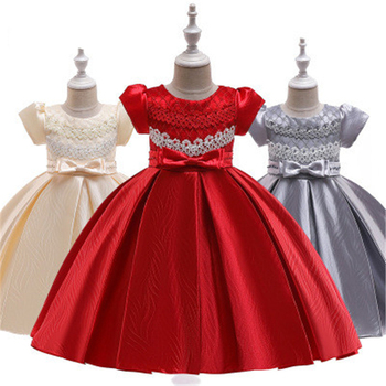 HYC187 New Fashion 2019 Princess flower girl dresses for age 3-10years old