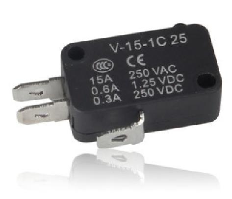 Большой микро-ключ переключатель V-15-1C25/IC25 точка затвердевания серебра микроволновая печь контактном выключателе