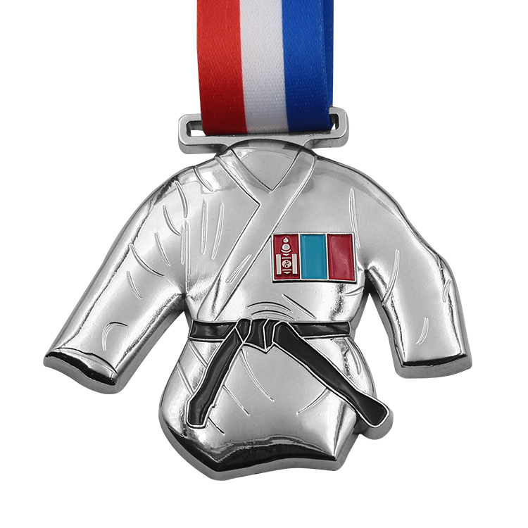 China Manufacture Wholesale Custom 3d design taekwondo sports metal award medal
