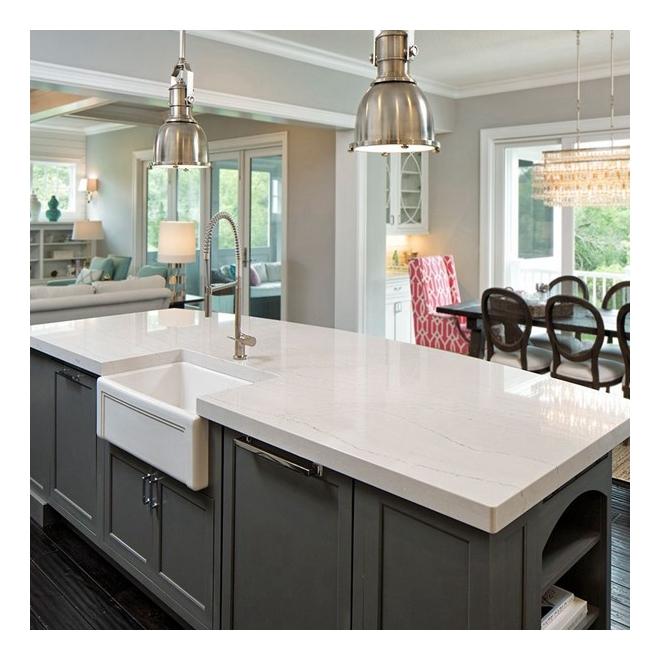 Cheap Synthetic Arctic Pure White Quartz Stone Kitchen Countertops Buy Quartz Countertop Pur White Quartz Countertop White Kitchen Countertop Product On Alibaba Com