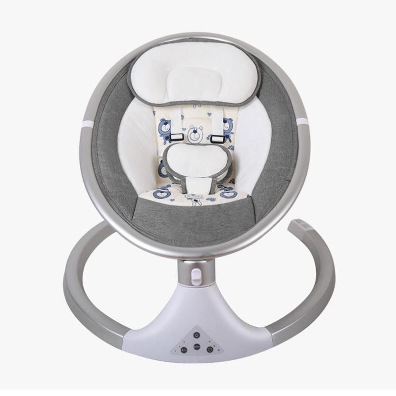 Изготовленный на заказ металлический каркас, новый дизайн, роскошное Дешевое электрическое детское кресло-качалка