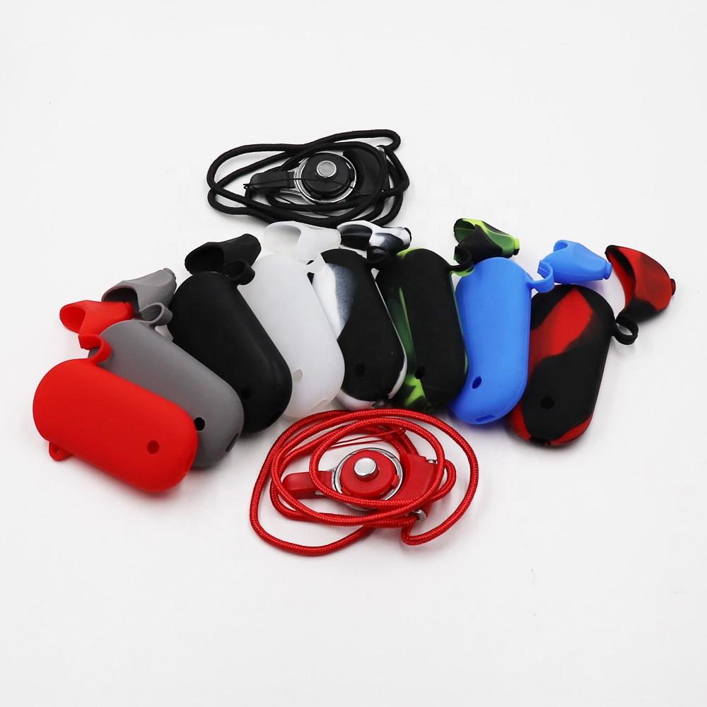 Lovekeke, декоративный защитный чехол, кожаный силиконовый чехол с ремешком и крышкой для набора электронных сигарет Renova Zero Pod