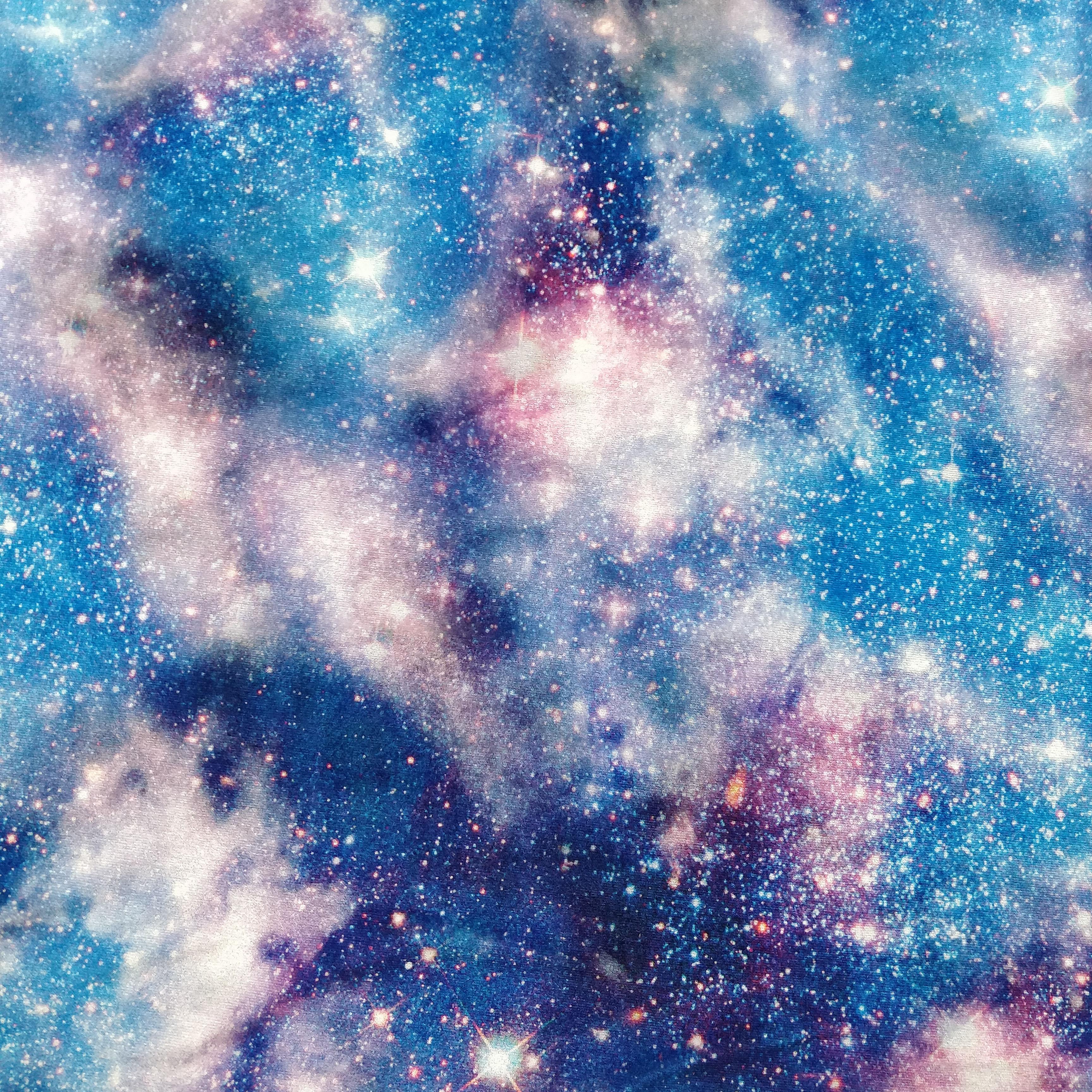 Hot polyester soft star bright pattern knitting Korean 9000 velvet printing fabric