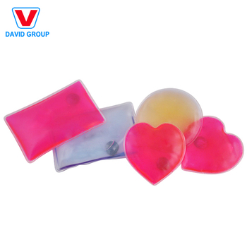 Small Promotional Children Heat Pack PVC Various of Pattern Hand Warmer