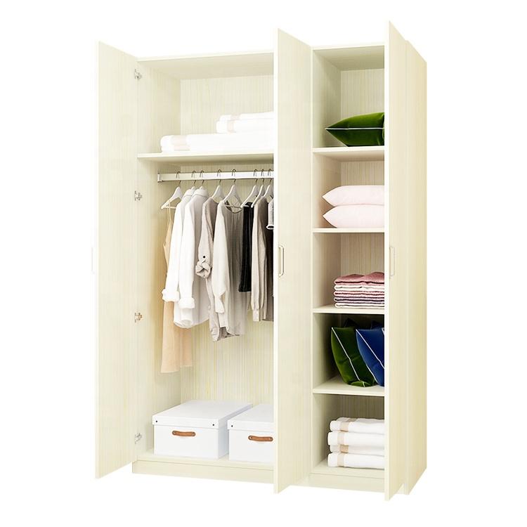 Hot Saling Wooden Almirah Design 3 Door Student Wardrobe Buy Product On Alibaba Com