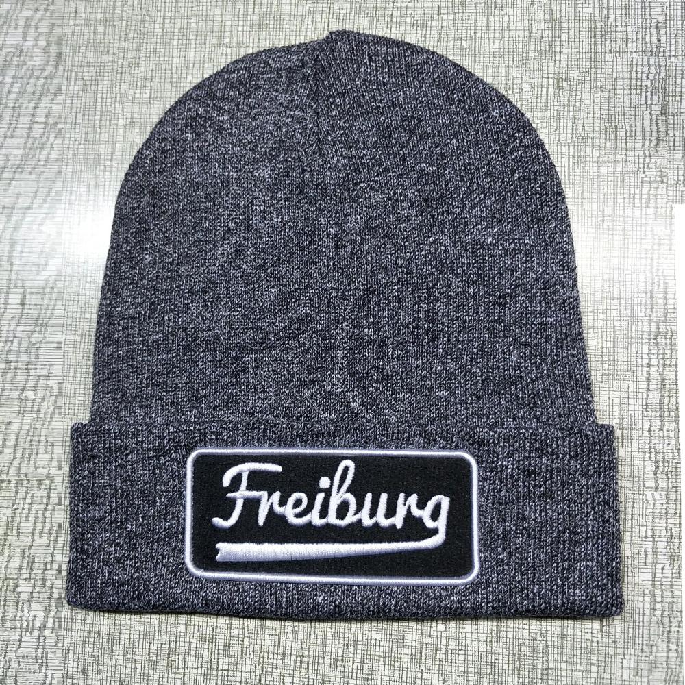 Модная акриловая зимняя шапка, вязаная шапка на заказ, 100% качественные шапки бини