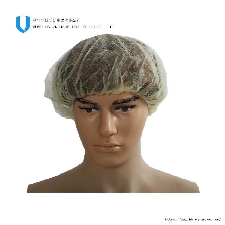 High Quality Disposable PP 21inch Bouffant Hair Cap